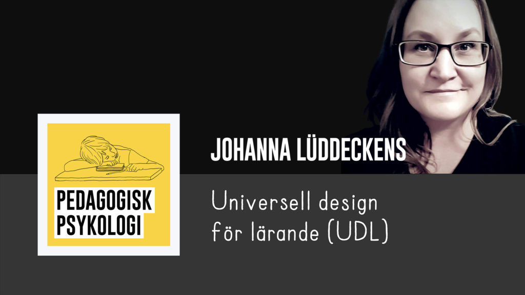 Johanna Lüddeckens, doktorand i specialpedagogik