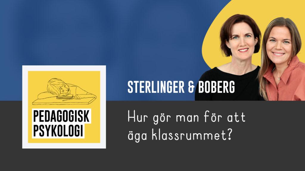 Anna Sterlinger och Karin Boberg - Pedagogiskt Ledarskap 2021