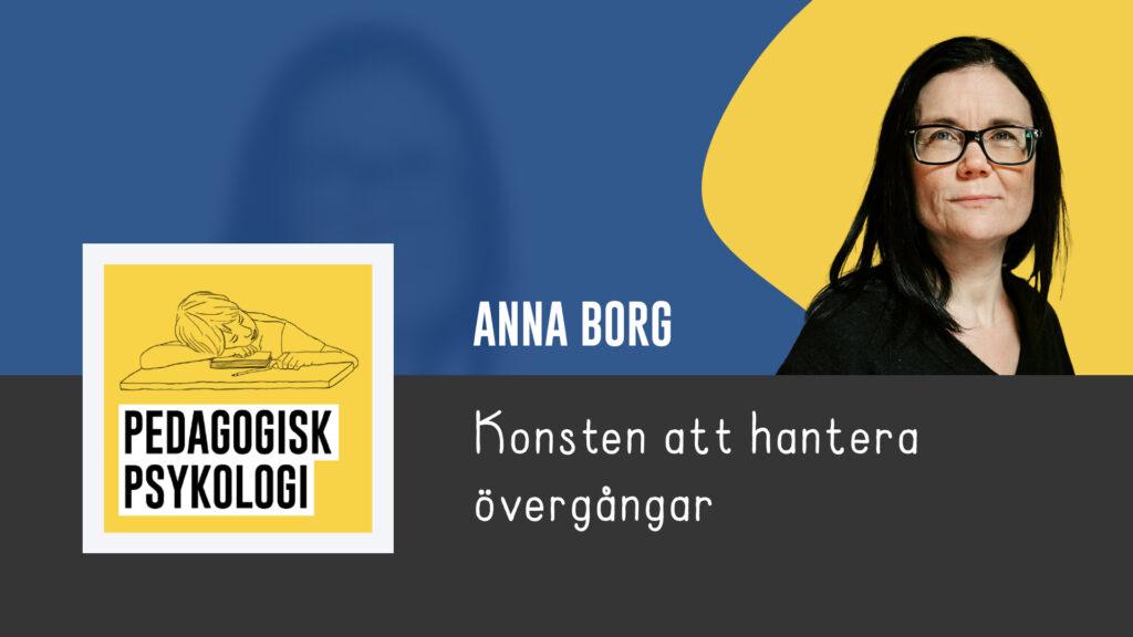 Anna Borg - Pedagogiskt Ledarskap 2021