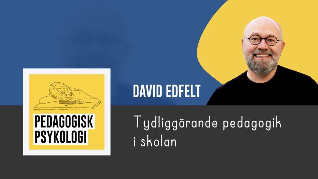 David Edfelt - Pedagogiskt Ledarskap 2021